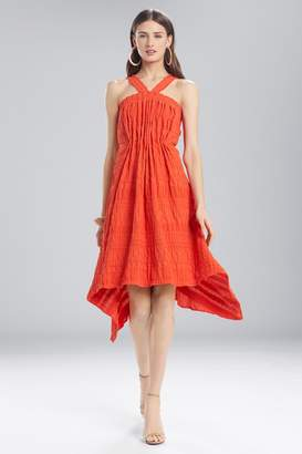 Natori Josie Summer Texture Eyelet Dress