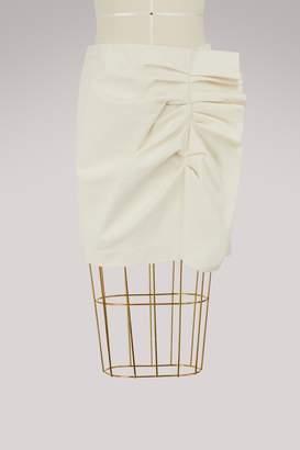 Isabel Marant Lefly short cotton skirt
