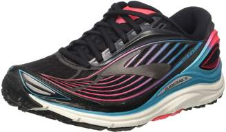 Brooks Women's Transcend 4 Peacoat/Iridesium/Lime Punch 6 B US