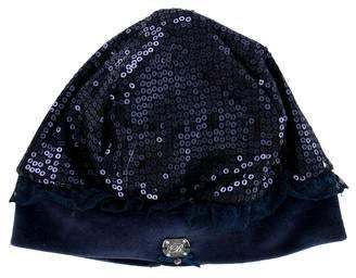 Blumarine Girls' Embellished Hat