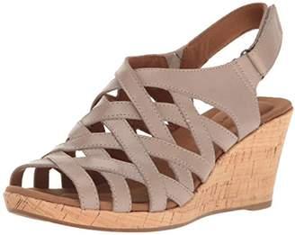Rockport Women's Briah Woven Wedge Sandal