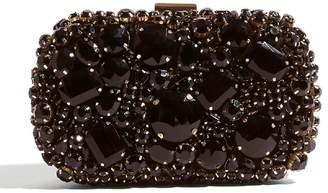 Karen Millen Jewelled Box Clutch Bag