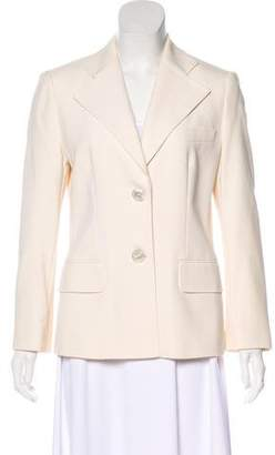 Rena Lange Virgin Wool Structured Blazer