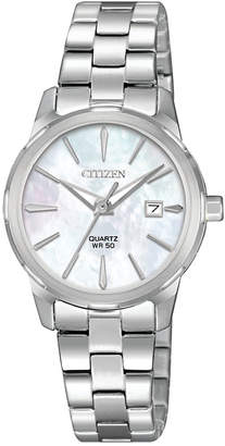 Citizen Women Quartz Stainless Steel Bracelet Watch 28mm