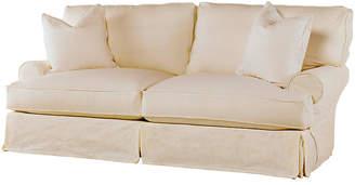 Comfy Slipcovered Sofa - Natural Linen - Rachel Ashwell
