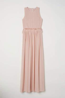 H&M Long Chiffon Dress