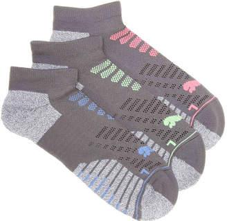 Puma 360 Grip No Show Socks - 3 Pack - Women's