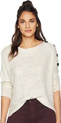 Jack by BB Dakota Junior's Level Up Buttoned Drop Shoulder Sweater