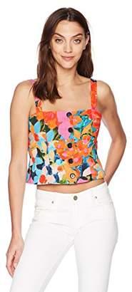 Mara Hoffman Women's Malin Button Up Tank Top