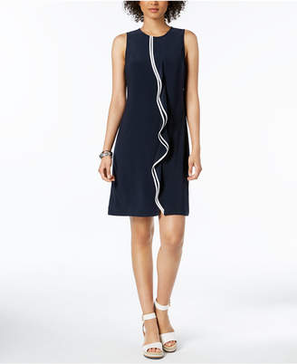 Tommy Hilfiger Sleeveless Ruffle Dress, Created for Macy's