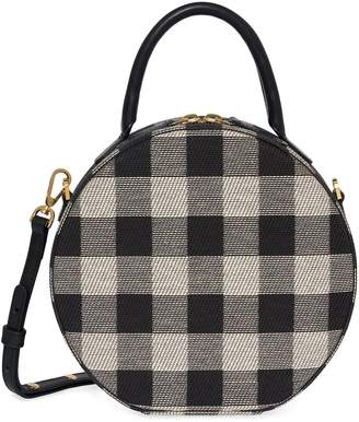 Mansur Gavriel Checker Circle Crossbody
