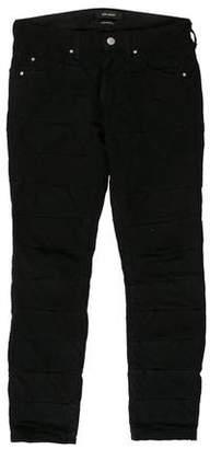 Isabel Marant Textured Legging Mid-Rise Pants