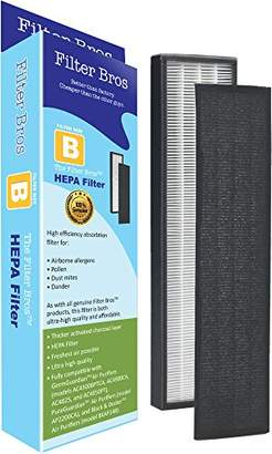 Germ Guardian FLT4825 True HEPA Replacement Filter B for GermGuardian AC4825 Home Air Cleaner Purifiers