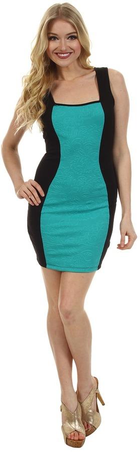 Type Z Bell Scuba Dress (Mint) - Apparel