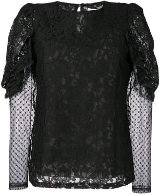 See by Chloe longsleeved lace blouse