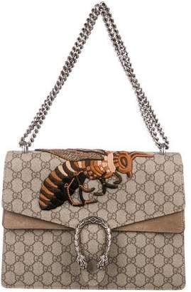 beb53b8ded3 Gucci GG Supreme Medium Dionysus Bee Bag