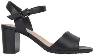 Hush Puppies Lindera Black Sandal