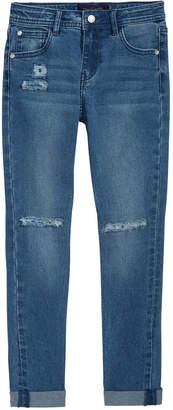 Tommy Hilfiger Rip-and-Repair Denim Jeans, Big Girls