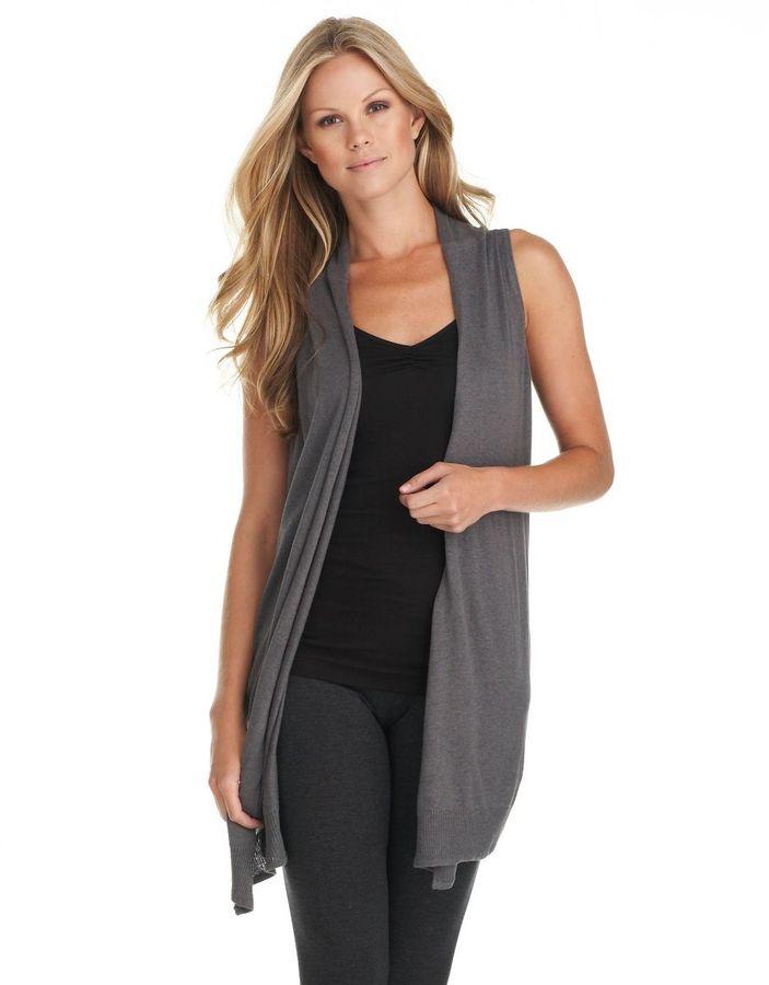 Kensie shawl vest cardigan