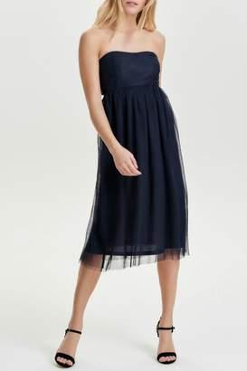 Only Maja Strapless Dress