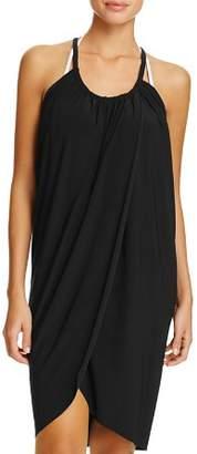 Magicsuit Draped Dress Swim Cover-Up
