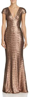 Dress the Population Lina Sequined Gown