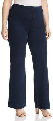 Lysse Plus Pull-On Denim Trouser