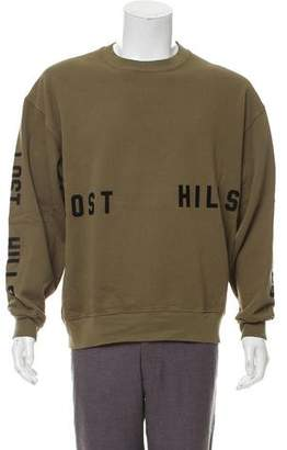 Yeezy Season 5 Lost Hills Invitation Sweatshirt