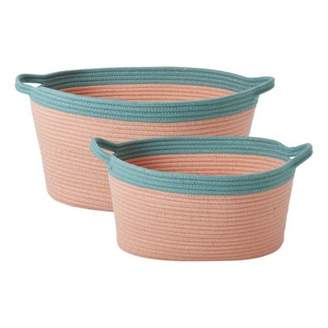 Rice Sale - Oval Storage Baskets - Set of 2