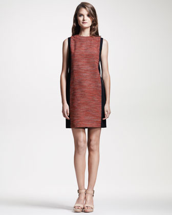 Derek Lam 10 Crosby Sleeveless Colorblock Dress