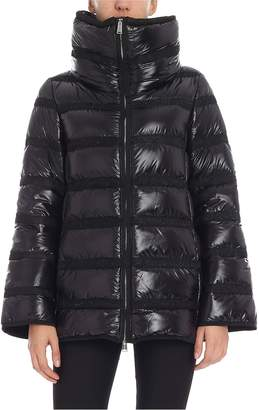 ADD Cowl Collar Padded Jacket
