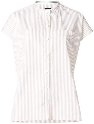 Joseph striped short sleeve shirt