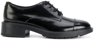 Hogan brogues with heel