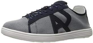Armani Jeans Men's Textile Fashion Sneaker