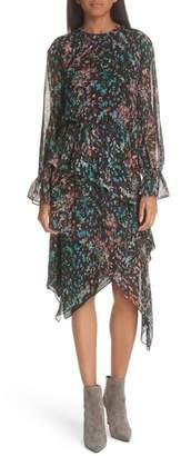IRO Print Asymmetrical Dress