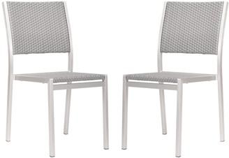 ZUO Vive Metropolitan 2-pc. Dining Chair Set - Outdoor