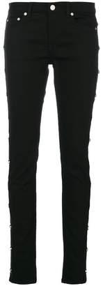 Givenchy star studded skinny jeans