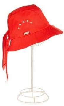 Betmar Cotton Cloche Knot Hat