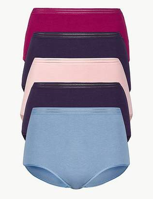 Marks and Spencer 5 Pack No VPL Full Brief Knickers