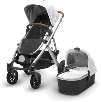 UPPAbaby® VISTA 2017 Stroller with Leather Handles in Loic $899.99 thestylecure.com