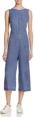 Bella Dahl Tie Back Crop Jumpsuit $194 thestylecure.com