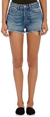 GRLFRND Women's Cindy Denim Cutoff Shorts - Blue