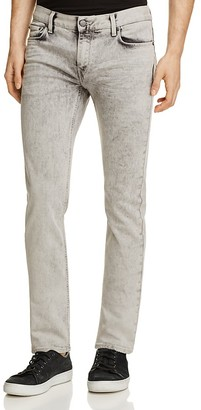 BLK DNM Slim Straight Fit Jeans 5 in Remsen Gray $215 thestylecure.com