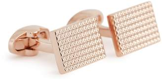 Reiss Our last order date for Christmas has now passed JULIAN PYRAMID-DETAIL CUFFLINKS Rose Gold