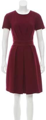 Trina Turk Short Sleeve Knee-Length Dress