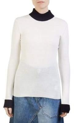 Loewe Second Skin Wool Turtleneck Sweater