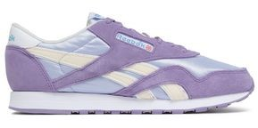 Reebok Classic Suede And Stretch-knit Sneakers