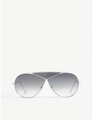 LW40010U Puzzle pilot-frame sunglasses