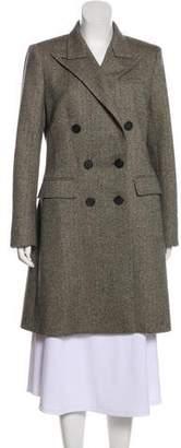 Hermes Knee-Length Wool Coat