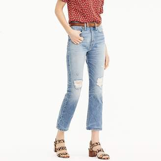 J.Crew Point Sur Stevie X-rocker jean in light destroyed wash
